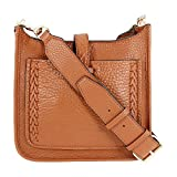 Rebecca Minkoff Mini Unlined Feed Bag with Whipstich, Almond