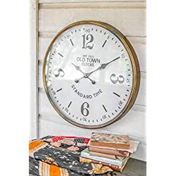 Kalalou Old Town Station Clock, One Size, Multicolored