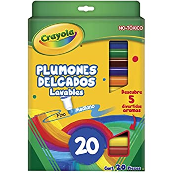 Crayola 20 Ct Super Tips Washable Markers
