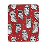 My Little Nest Warm Throw Blanket Cute Owl Lightweight MicrofiberSoft Blanket Everyday Use for Bed Couch Sofa 50'' x 60''
