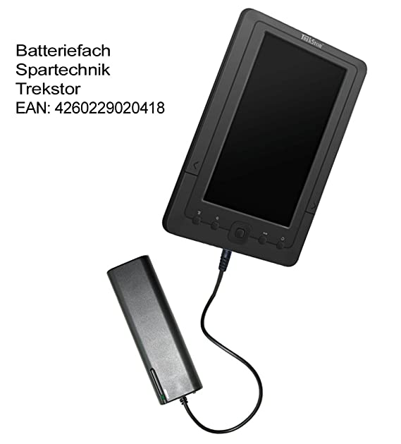 Batería Compartimento para Trekstor 7 (M). Externo Batería ...