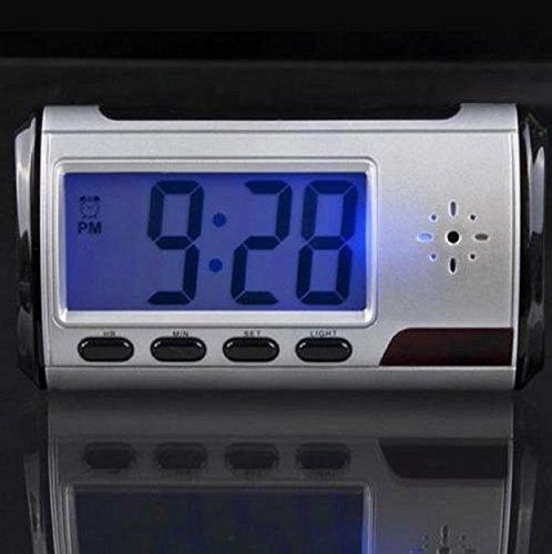 NEW! Digital HD Video DVR Alarm Clock Nanny Hidden Camera Recorder Motion Detect DVR