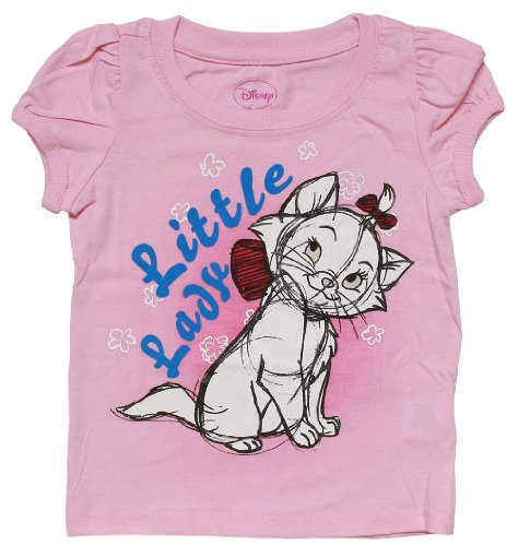 Disney Aristocats Marie Pink Toddler T-Shirt - 2T