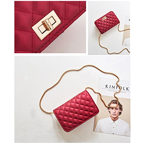 SHRJJ Bag Handbags Messenger Ladies 2018 Wave 20X8X14CM Handbag New Bag Handbag Package Women For T Female pfdwqz