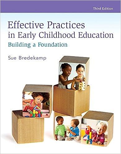 Amazon effective practices in early childhood education amazon effective practices in early childhood education building a foundation ebook sue bredekamp kindle store fandeluxe Gallery