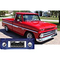 1964-1966 Chevrolet Truck USA-630 II High Power 300 watt AM FM Car Stereo/Radio with iPod Docking Cable
