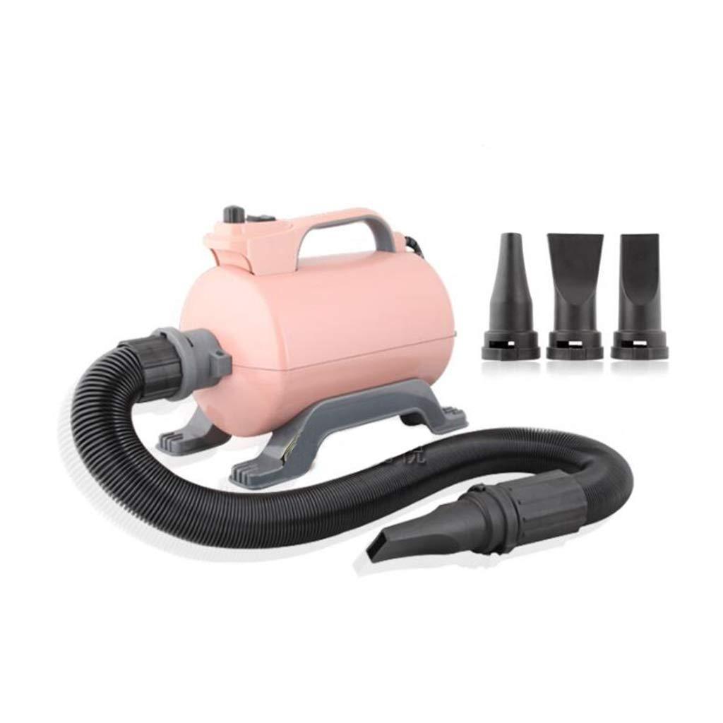 sconto online Soffiatore per Cani, Cani, Cani, 2200w Low Noise Pet Dryer Animali Grooming Asciugacapelli con 3 Ugelli Tubo Flessibile (colore   rosa)  in vendita online