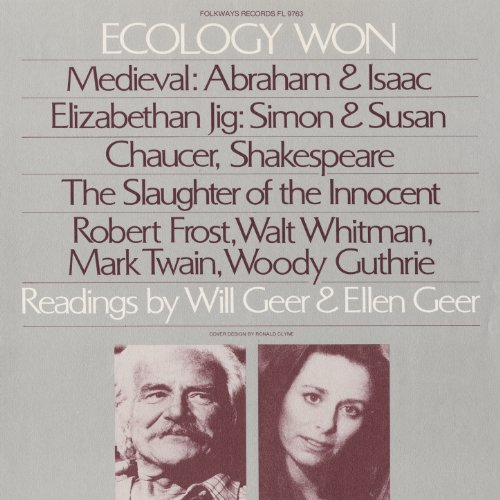 Ecology Won Readings By Will Geer And Ellen Geer By Will