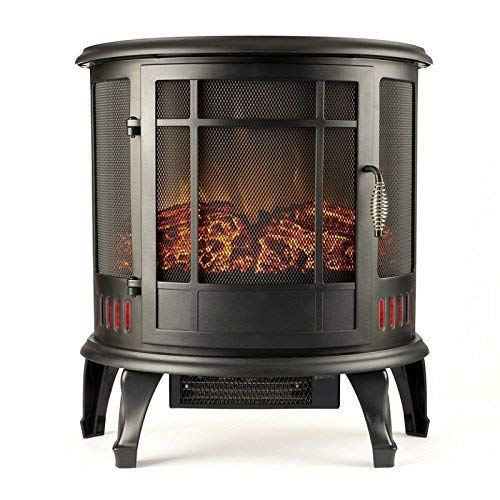 wood stove electric heater - 8