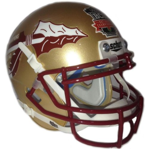 Football Bcs Champions - Schutt Florida State Seminoles 2013 BCS National Champions Full-size Replica Helmet