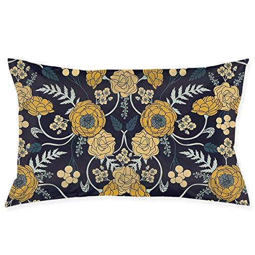 Amazon.com: Tontea - Funda de almohada rectangular con ...