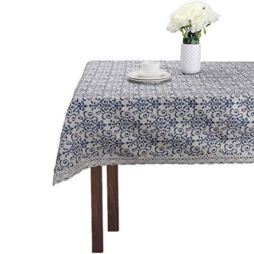 Vintage Blue and White Porcelain Classic Cotton Linen for sale  Delivered anywhere in Canada