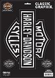 chroma graphics harley davidson - Chroma 3276 Harley-Davidson Classic Emblem Decal