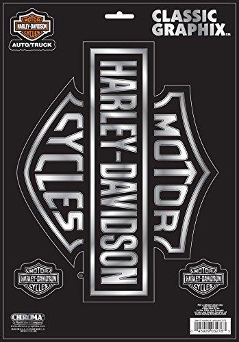 Chroma 3276 Harley-Davidson Classic Emblem Decal (Diesel Harley Davidson)