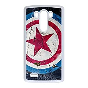 LG G3 Phone Cases White Captain America CXS073284