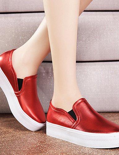 Negro Noche Eu39 Cn39 Zapatos De Zq Trabajo Uk6 Bailarina Y Rojo Fiesta Casual Planos Sintético Comfort Mujer Oficina us8 Tacón Red Plano ZHw1wqOF