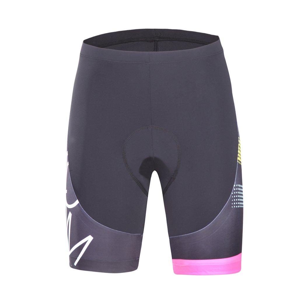 53b269dda beroy Womens Bike Shorts with 3D Gel Padded