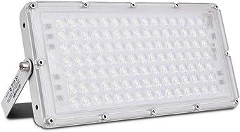 Viugreum 100W Foco Led Exterior,Reflector LED Blanco frío, 8000LM ...