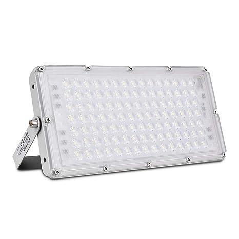 Proyector de exterior LED 100w Proyector de LED, 9000LM para ...