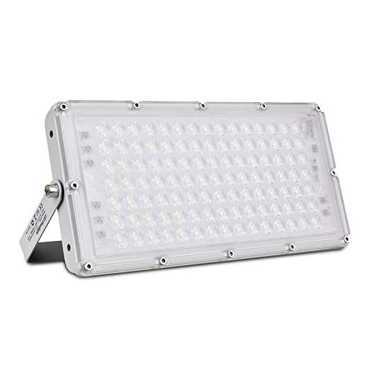Proyector de exterior LED 100w Proyector de LED, 9000LM para reflector de interior y exterior Proyector LED IP67 a prueba de agua para el jardín Patio ...