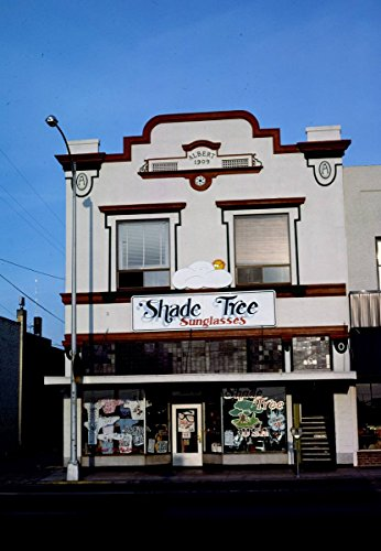 Roadside America Photo Collection | 1987 Shade Tree Sunglasses, Grants Pass, Oregon | Photographer: John Margolies | Historic Photographic Print 16in x 20in