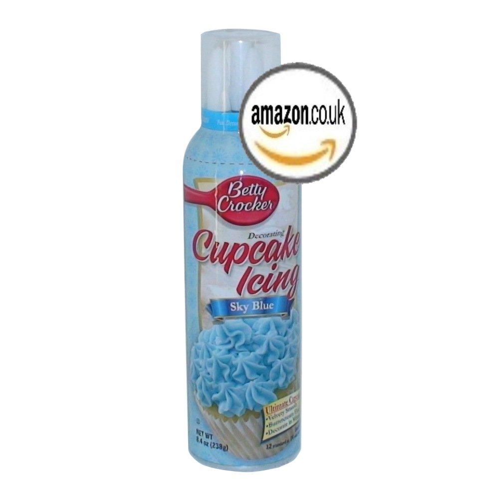 Signature Brands Betty Crocker: Decorating Cupcake Sky Blue Icing, 8.4 Oz