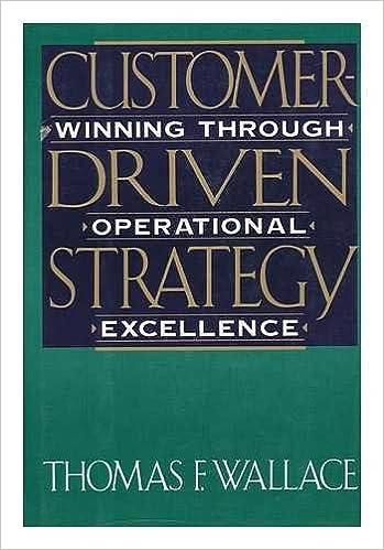 Book Customer Driven Strategy: Winning Through Operational Strategy