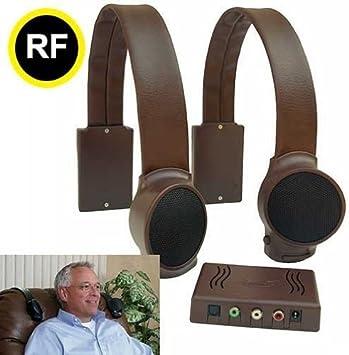 Brown Audio Fox Wireless TV Speakers