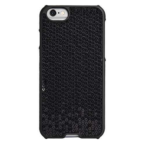 Agent 18 iPhone 6 Inlay Case - Retail Packaging - Black - Agent Pack Black Diamond