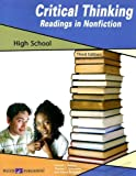 Critical Thinking Readings in Nonfiction, Donald L. Barnes and Thomas S. Schroeder, 0825162750