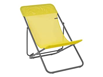 Lafuma Maxi Transat - Juego de 2 sillas Plegables para Exteriores