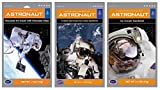 Astronaut Foods Freeze-Dried Ready To Eat Space Food Ice Cream 3 Flavor Variety Bundle, (1) each: Chocolate Chocolate Chip, Cookies and Cream Sandwich, Vanilla Sandwich (3 Pouches)