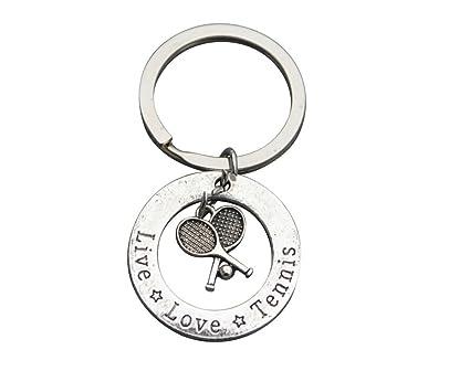 Amazon.com: Tenis Llavero, Jewelry- perfecto Tenis Jugadores ...