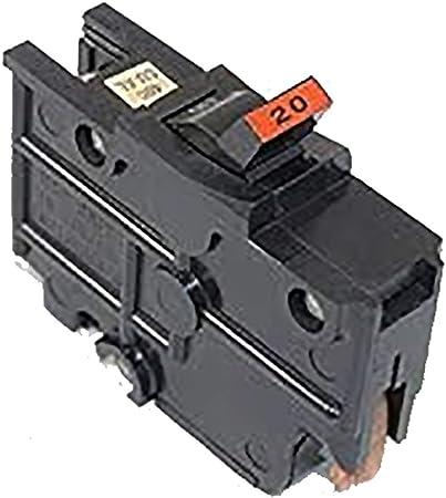 NC120 Federal Pacific Stab-Lok Circuit Breaker  20a used