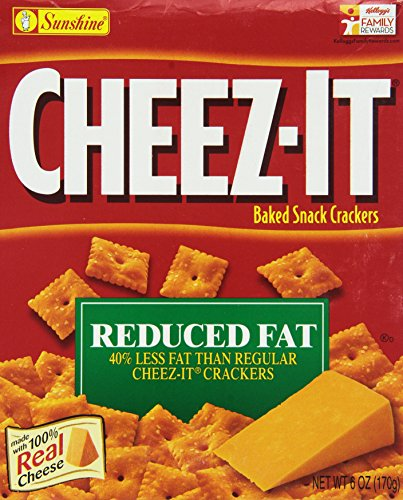 Sunshine Cheez Baked Crackers Reduced