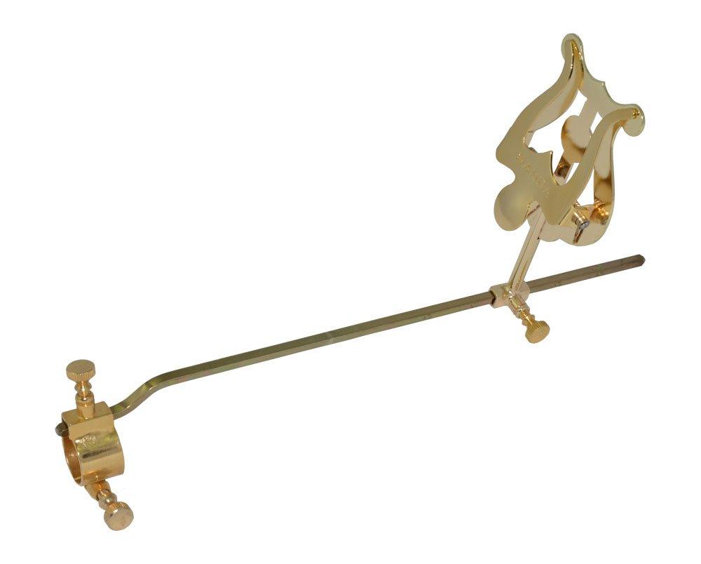 Atril super trombón, ajustable, soporte Ø 18 mm