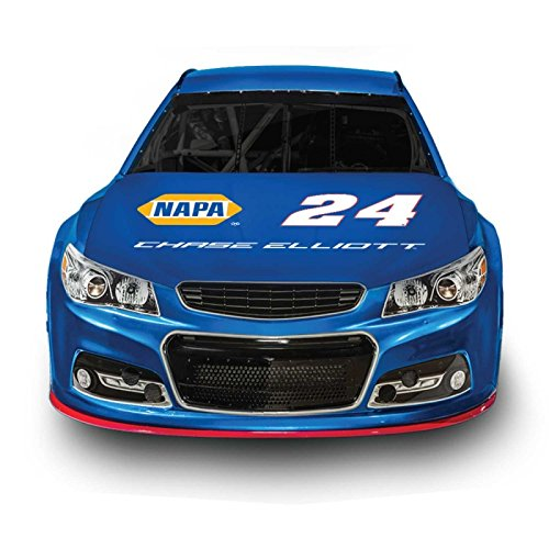 NASCAR Hood Cover - Officially Licensed - Easy Installation - Support Your Favorite Driver (Chase Elliott)