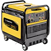 Subaru RG4300iS 9.0 HP Gas Powered Inverter Generator, 4300W