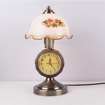 Lámpara de mesa antigua china Dormitorio estudio sala de ...