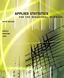img - for Applied Statistics for the Behavioral Sciences book / textbook / text book