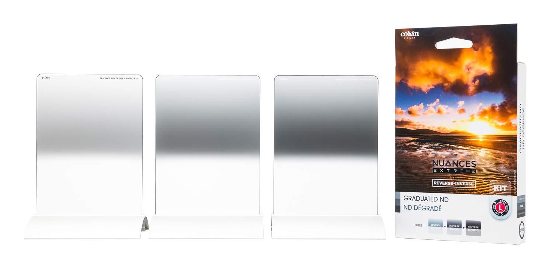 Cokin フィルターセット NUANCE EXTREME リバースキット Lサイズ リバースGND4/8/16 3枚セット NKZRE Lサイズ(100mm幅)  B07KY6P6N2