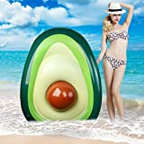 Aitey Pool Float, Avocado Huge Inflatable Swimming Pool Lounger Large Outdoor Portable Pool Float Hammock, Beach Toy for Adults & Children