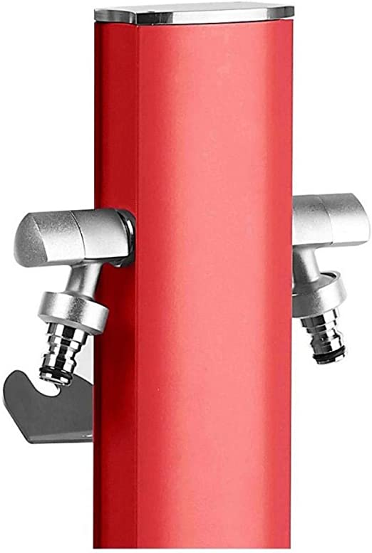 S&M Totem Columna de Agua de jardín con Soporte para 2 grifos ...