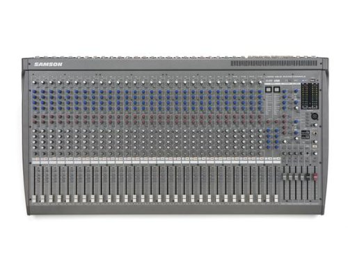 (Samson L3200 24-Channel/4-Bus Professional Mixing Console)