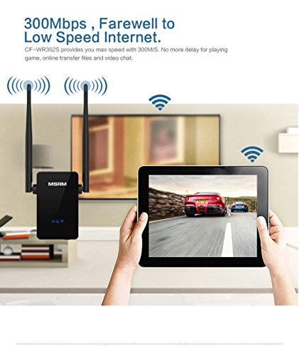 MSRM US302 300Mbps Wifi Range Extender 360 Degree WiFi Covering with Dual Antennas by MSRMUS (Image #3)'