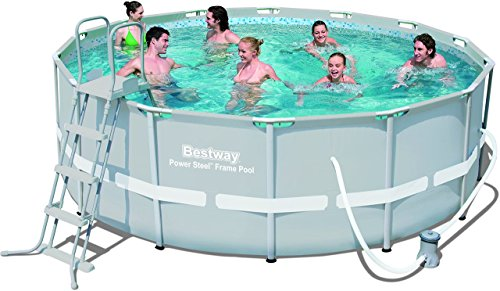 Bestway Frame Pool Power Steel Set, 427 x 122 cm