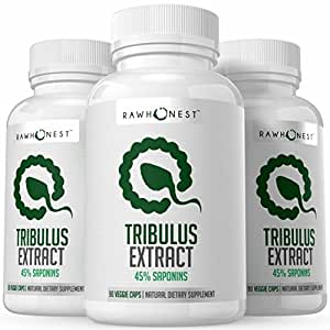 Tribulus Terrestris Extract With 45% Saponins – 100% Natural & Pure Male Performance Support, Advanced Fast-Absorbing Formula, Boosts Immune System & Improves Libido