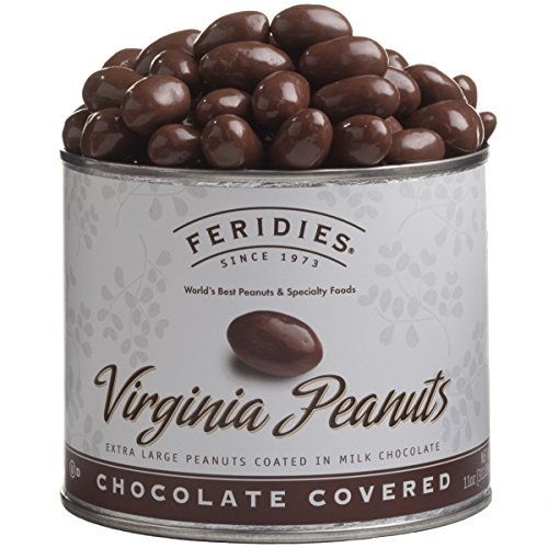 11oz Can Milk Chocolate Covered Virginia Peanuts (Virginia Chocolate)