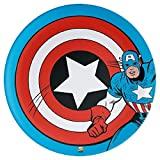 Kids 10'' Dinner Plates ~ set of 2 (Captain America)