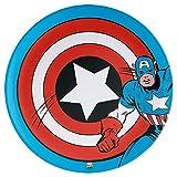 Kids 10'' Dinner Plates ~ set of 2 (Captain America)